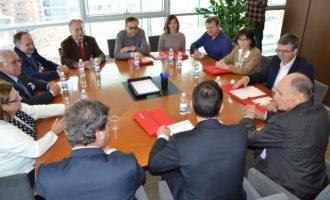 Climent anuncia la convocatoria de la Mesa de la Cerámica para este febrero con el fin de analizar los temas de interés del sector