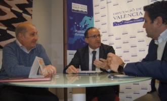 Diputació i Ateneu de València col·laboraran per a posar en valor la riquesa patrimonial i cultural d'aquestes institucions