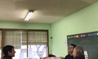 Burjassot sol·licitarà a Educació el canvi de la coberta del CEIP Villar Palasí pels seus importants danys