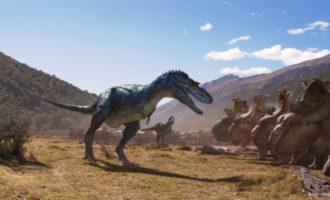 Més de 60.000 espectadors han vist la pel·lícula 'Caminant entre dinosaures: planeta prehistòric 3D' des que s'estrenara en l'Hemisfèric