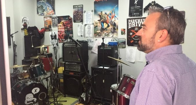 Paterna ofereix als grups musicals sales d'assaig per 40 euros al mes