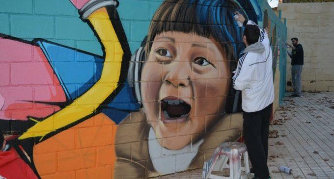 L'Ajuntament de Benetússer lliura els premis del concurs de grafiti