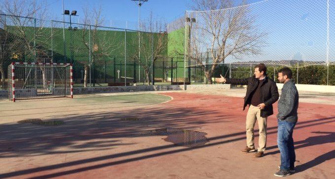 La Granja de la Costera gaudirà d'una renovada pista poliesportiva