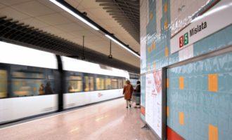 L'avaria d'un tren de Metrovalència entre Meliana i Almàssera provoca retards en les línies 3, 5 i 9