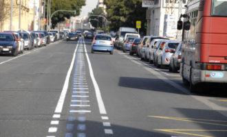 Nuevas barandillas y pasos de peatones, repintado y pacificación del tráfico, en La Torre