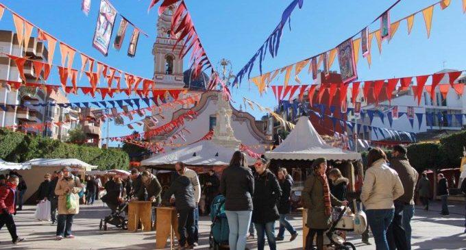 Alfafar celebra la festivitat de Sant Sebastià amb la seua tradicional Fira Medieval
