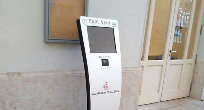 L'Ajuntament de València facilita a la ciutadania saldar els tributs sense fer cues