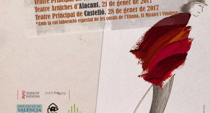 Homenatge al Tio Canya i a Al Tall en el Teatre Principal de València