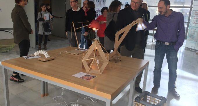 Ribó visita l'Escola d'Art Superior de Disseny de València