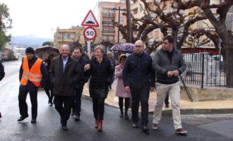El condicionament de la travessia d'Alfarrasí aportarà major seguretat viària i accessibilitat