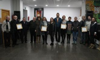 La falla Cronista Vicent Beguer i Esteve entrega els Premis Botafocs
