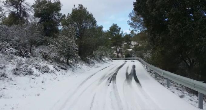 Les carreteres valencianes es mantenen obertes amb el dispositiu especial de la Diputació