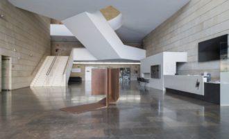 L'IVAM exhibeix una escultura de Pablo Palazuelo al vestíbul principal