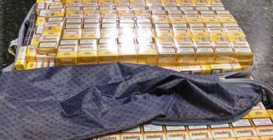 La Guàrdia Civil intervé prop de 1500 paquets de tabac en l'aeroport de València