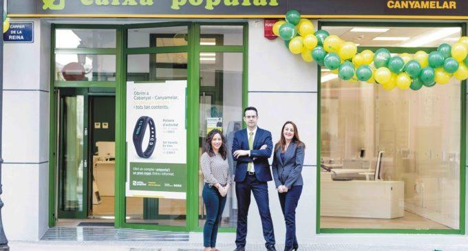 Caixa Popular arriba a Cabanyal-Canyamelar amb nova oficina