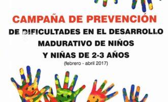 La Regidoria d'Educació inicia la Campanya de Prevenció i Detecció de dificultats en el Desenvolupament Madurativo