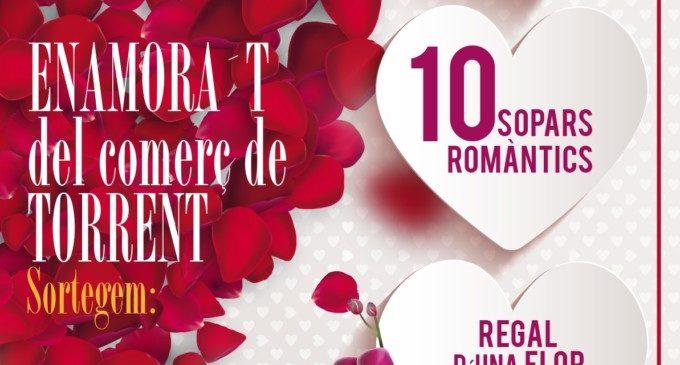 La campanya 'Enamora't del comerç de Torrent' premia amb sopars i escapades romàntiques
