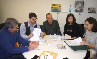 Diputación e IVE establecen un marco de colaboración conjunta en materia de regeneración urbana y eficiencia energética
