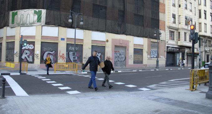 El nou pas de Guillem de Castro dóna accés directe als Jardins de l'Antic Hospital