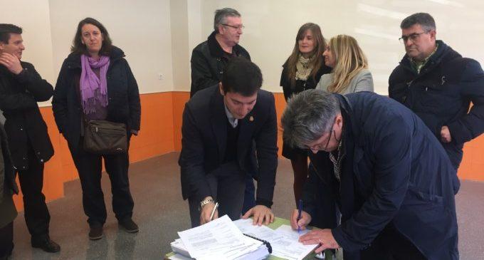 L'Alcalde de Burjassot recepciona per fi les obres del CEIP Sant Joan de Ribera