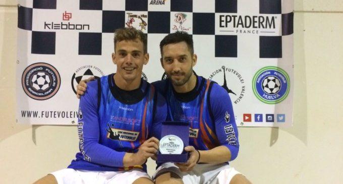 Juan López i Sergio Antolinos es coronen en la Primera Etapa de la Lliga Nacional de Futvòlei