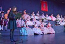 Emotiva exaltació de les Falleres Majors de l'Agrupació Olivereta