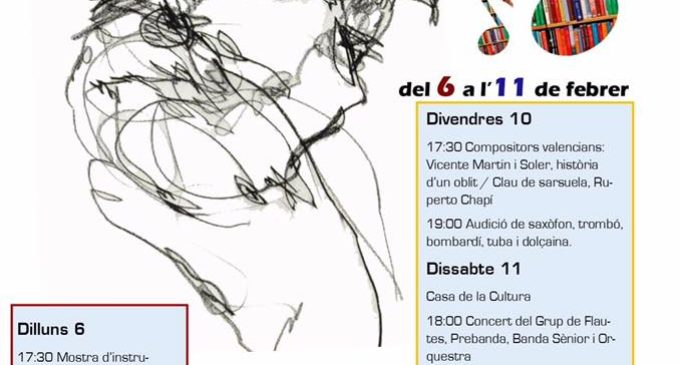 L'Agrupación Musical Los Silos celebra la seua Setmana Cultural en els primers dies de febrer