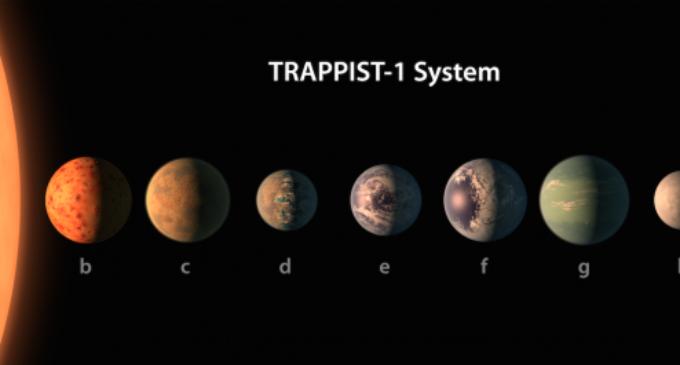 Mites i certeses sobre Trappist-1, el nou sistema solar anunciat per la NASA