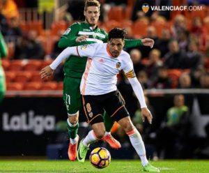 Valencia Leganés jornada 25 1-0