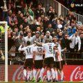 El Valencia va domar als lleons a Mestalla