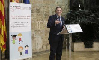 """La Generalitat presenta un pla d'ajudes al copagament farmacèutic per a menors com una eina per a """"defensar la salut"""" dels valencians"""