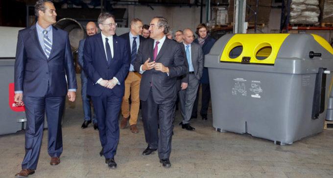 Puig destaca el potencial del teixit industrial de la Comunitat Valenciana per a impulsar el creixement econòmic