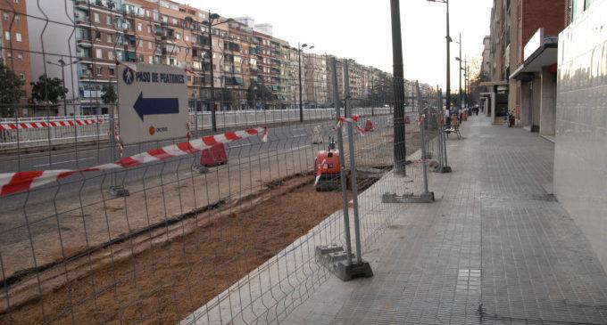 El carril bici de l'Avinguda del Cid s'obri pas des del centre