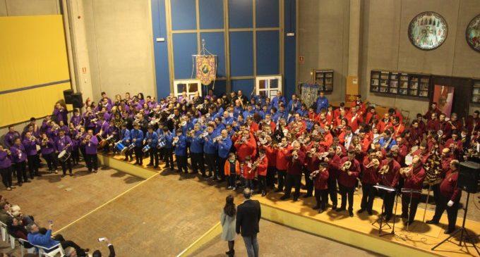 Les cornetes i tambors sonen en el Museu de Setmana Santa amb el Certamen Solidari