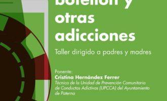 Paterna ofereix xarrades en col·legis per a abordar les addiccions entre adolescents