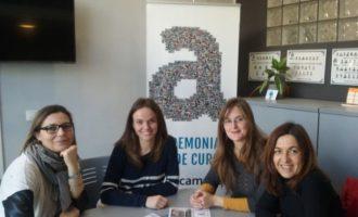 La Regidora d'Educació, Laura Espinosa, es reuneix amb els responsables de AulaCampus