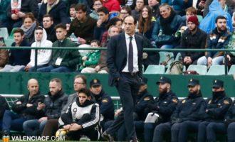 El València CF destitueix a Javi Gracia i Voro serà l'entrenador provisional