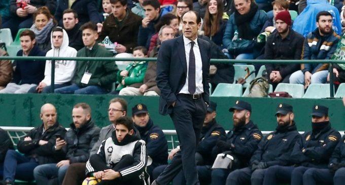 El Valencia CF destituye a Javi Gracia y Voro será el entrenador provisional