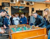 La falla del Sud reunix a totes les comissions de Mislata en la celebració del seu campionat de futbolí