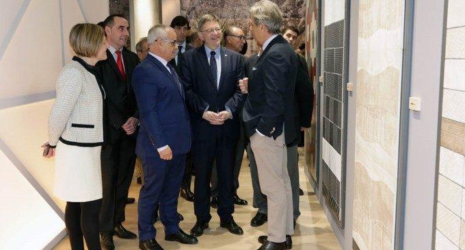 Puig advoca per la participació d'instruments de la Generalitat com l'IVACE, la nova Agència d'Innovació i el IVF' per a enfortir el sector ceràmic valencià