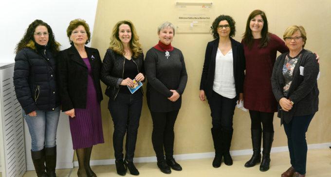 La Biblioteca Pública de Paiporta ja porta el nom de Maria Moliner Ruiz