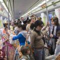Metrovalencia ha transportat a més de 1.800.000 viatgers del 15 al 19 de març, un 4,7% més