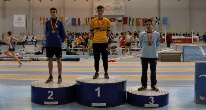 El Club Atletisme Torrent s'alça amb dues medalles de plata en el Campionat d'Espanya Cadet P.C.