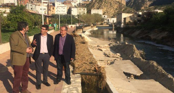 Rodríguez ajudarà a Los Serranos a resoldre els problemes generats pel desbordament de l'Embassament de Chera