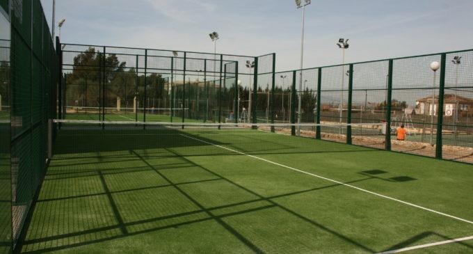 El poliesportiu Anabel Medina inicia les reformes de les pistes de tennis
