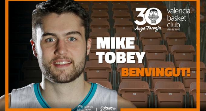 Valencia Basket arriba a un acord amb Mike Tobey per al que resta de temporada