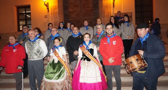 Paterna es fica de ple en les Falles amb la seua tradicional Nit d'Albaes