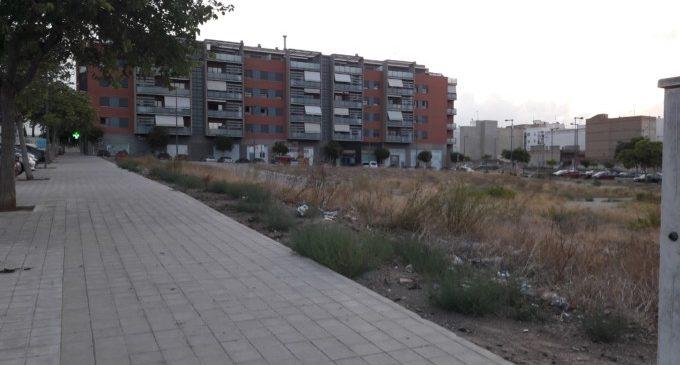 Paterna tancarà el solar municipal de 5.326 m2 de Santa Gemma