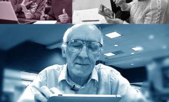 Joves d'Alboraia acosten la tecnologia a les persones majors