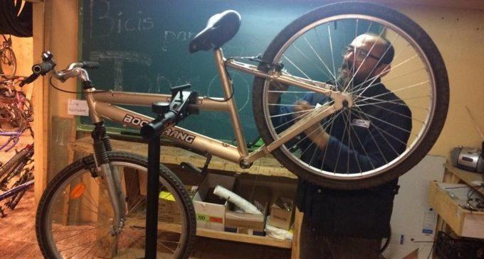 Toni Belarde (Bicis para todas): 'Per a molta gent, una bici li pot canviar la vida'